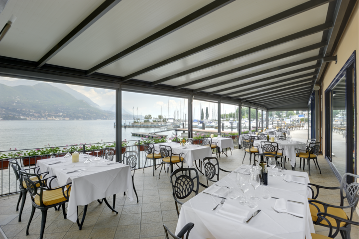 restaurant mit terrasse am see bella hotel. Black Bedroom Furniture Sets. Home Design Ideas